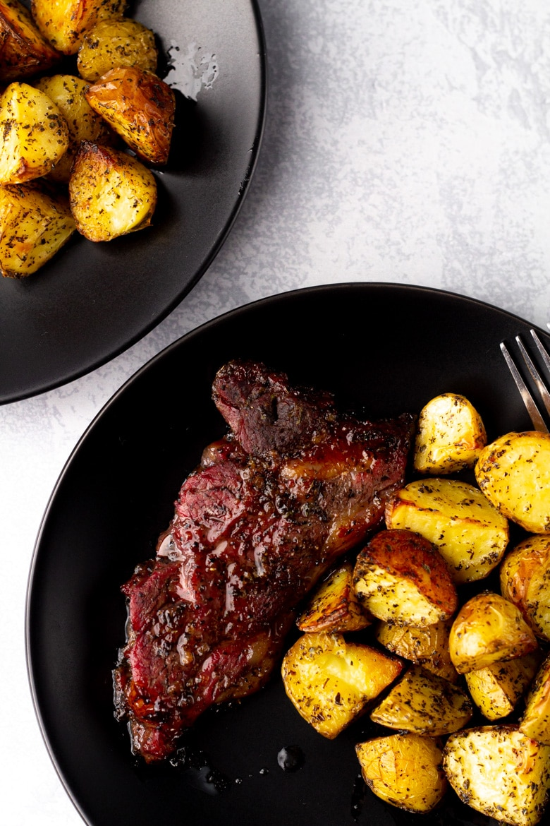 Honey-Mint Lamb & Potatoes